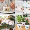 SAVITA 3D Stickers for Kids & Toddlers 500+ Puffy Stickers Variety Pack for Scrapbooking Bullet Journal Including Animal, Numbers, Fruits, Fish, Dinosaurs, Cars and More